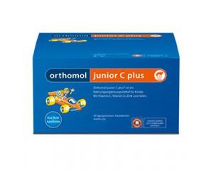 Orthomol junior С plus (Прямые гранулы 7 дней Лайм-Малина)
